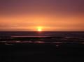Coucher de soleil sur Coxyde (Koksijde)