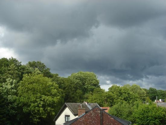 Ciel menaçant sur Montigny le 9 juin