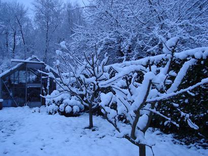 Neige fin mars 2008 3